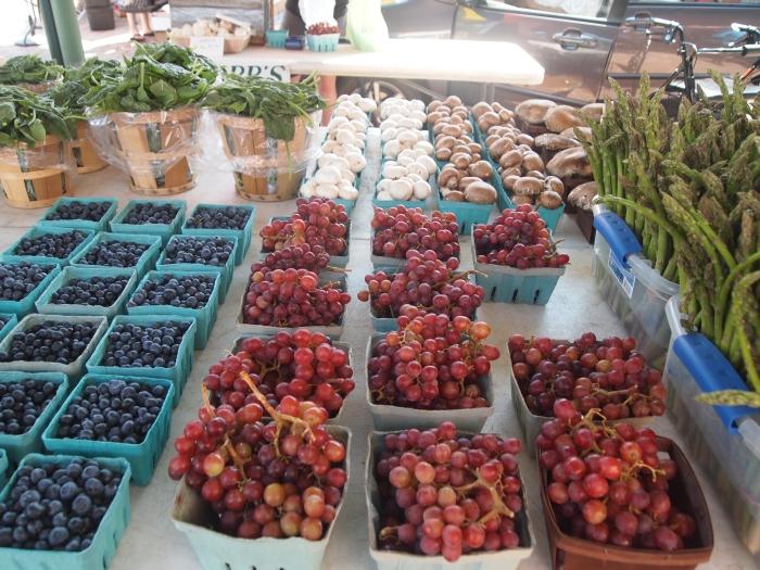 Fruits & vegetables for sale at Eastern Market