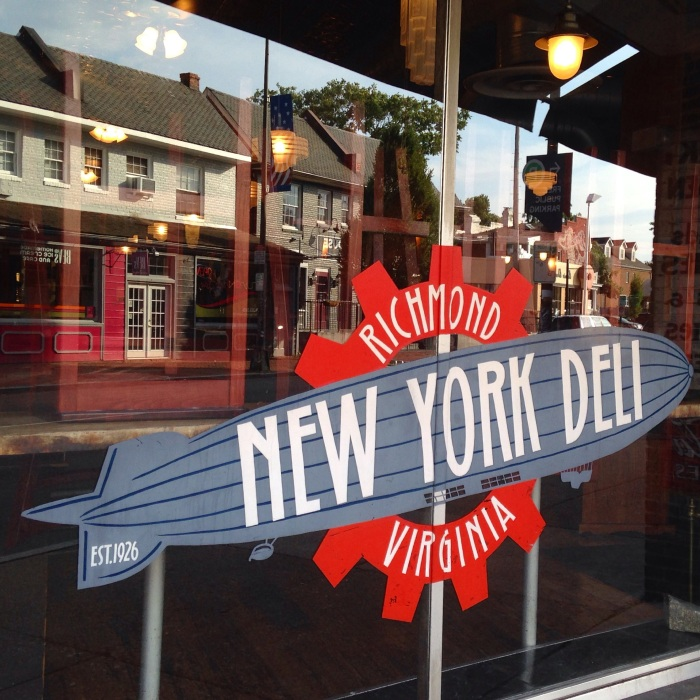 the iconic New York Deli of Carytown