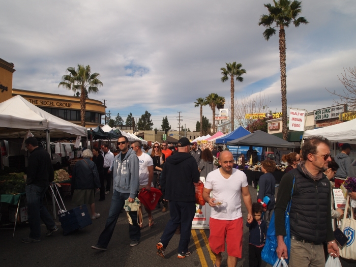 Sunday market in L.A.