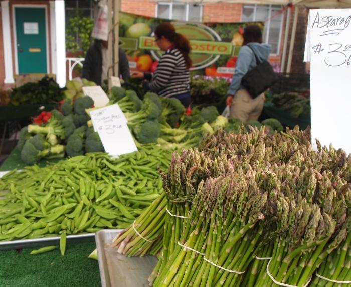 asparagus and beans