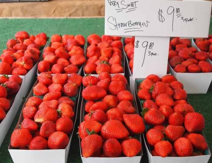 VERY sweet strawberries