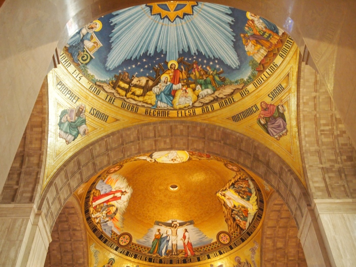 The Incarnation & the Redemption domes