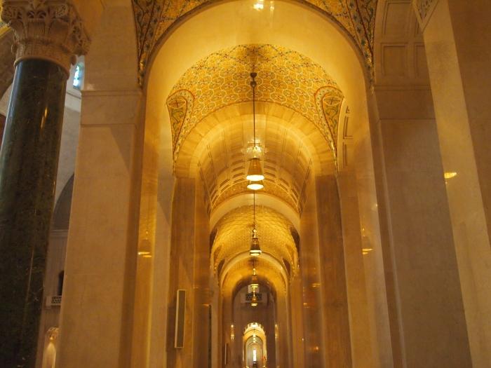 Walkway along the Incarnation Dome