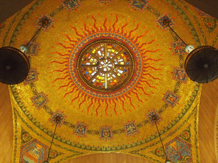 Dome in the Miraculous Medal Chapel