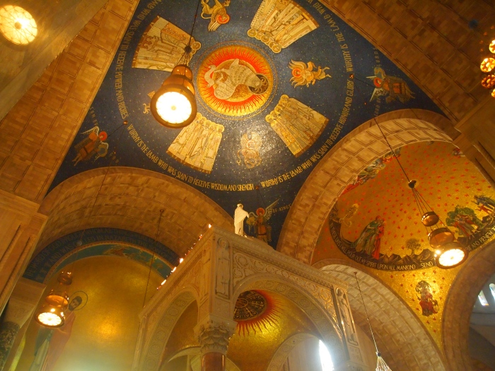 Chancel domes