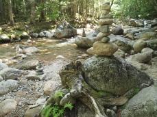 Cairns at Sabbaday Falls