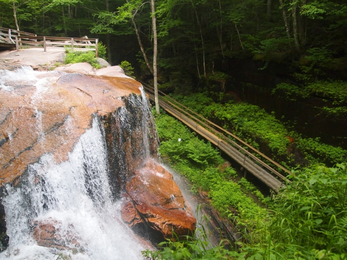 Waterfalls at the Flume