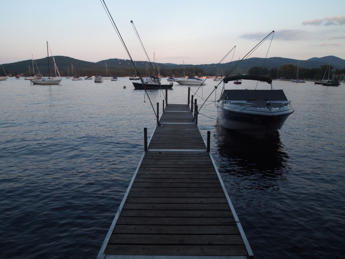 Sanders Bay on Lake Winnipesaukee