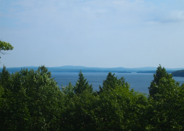 View of Lake Winnipesaukee from Mount Major