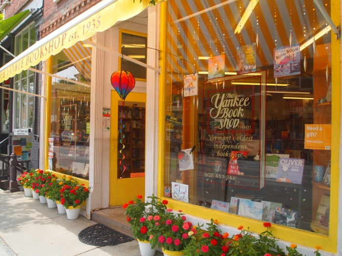 The Yankee Bookshop in Woodstock, Vermont