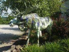 Cloisonné moose