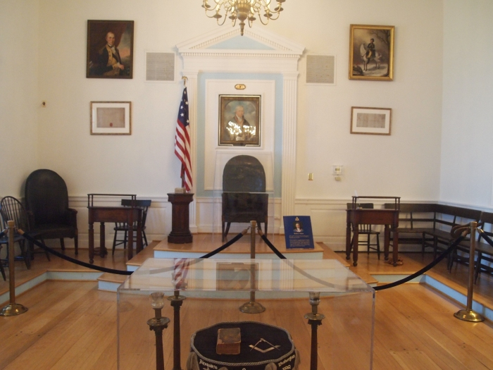 The Replica Lodge Room of Alexandria-Washington Lodge No. 22