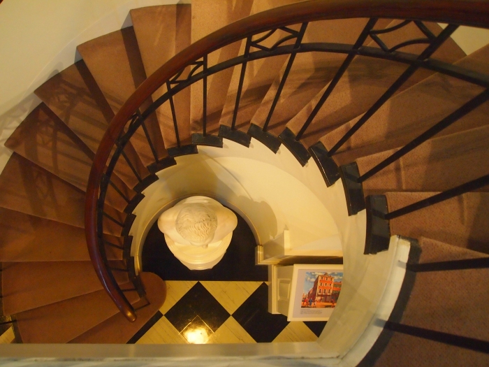 Staircase in the George Washington Museum