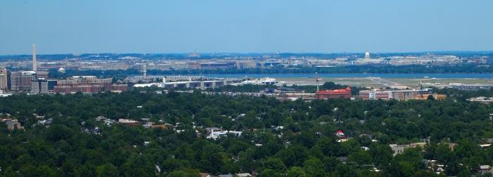Views across the Potomac River