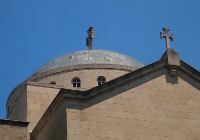 The dome of Saint Sophia