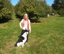 Me & Bailey at Stribling Orchard