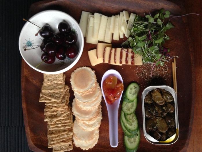 Cheese platter a la Stephanie