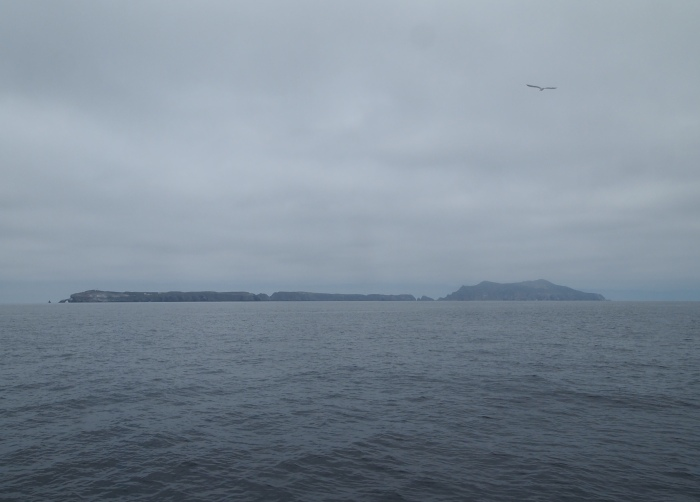 First view of Anacapa Island