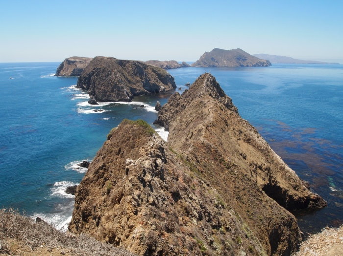View from Inspiration Point on Anacapa Island