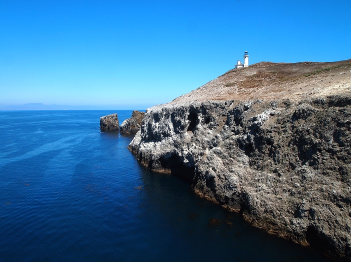 Anacapa's lighthouse