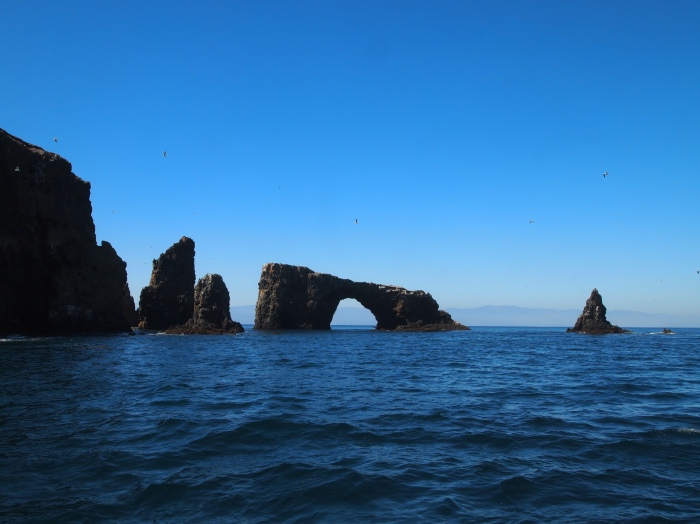 archway to the California coast