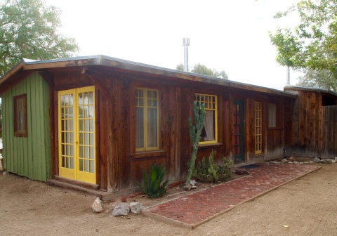 our room at the 29 Palms Inn: The Gold Park
