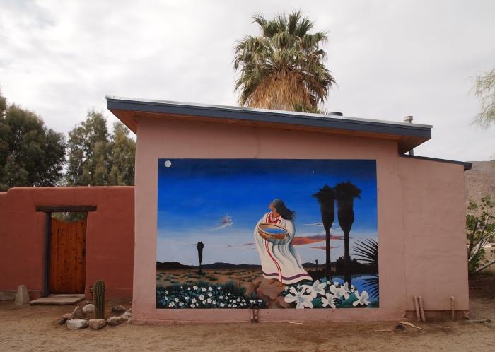 Artwork at the 29 Palms Inn