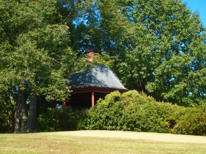 pavilion on the hill