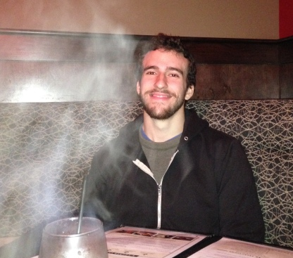 Alex at the Melting Pot