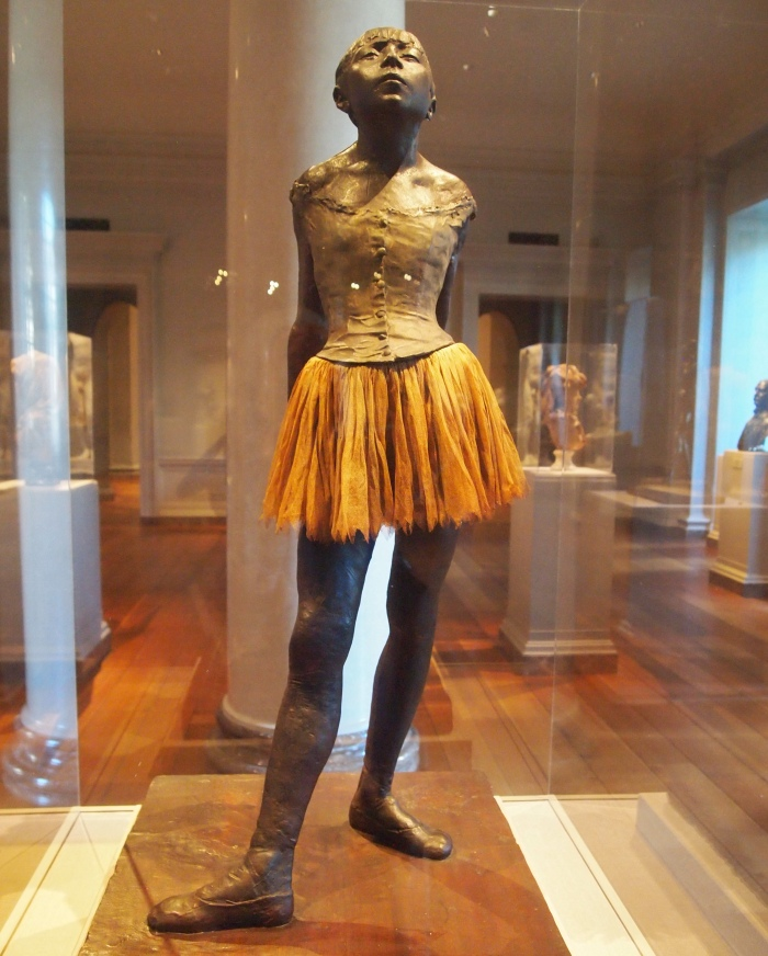 Edgar Degas, Little Dancer, bronze statuette