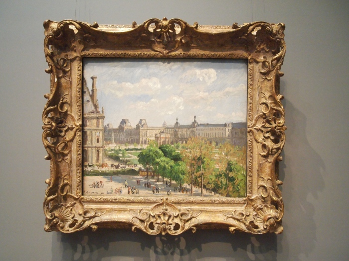 painting at the National Gallery of Art