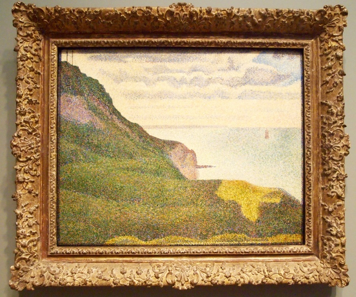 Seascape at Port-en-Bessin, Normandy (1888) - Georges Seurat