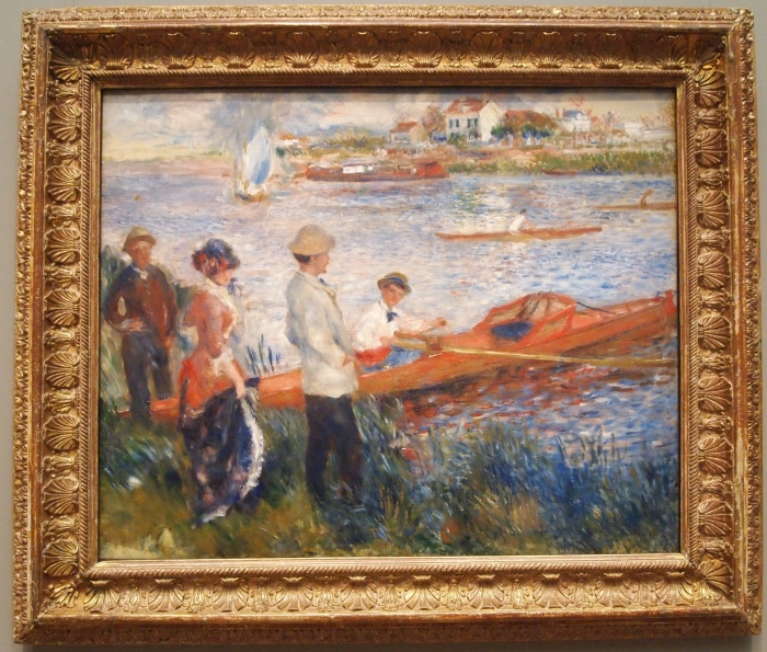 Oarsmen at Chatou (1879) - Auguste Renoir