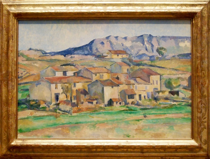 Hamlet at Payonnet, near Gardanne (1885-1886) - Paul Cezanne