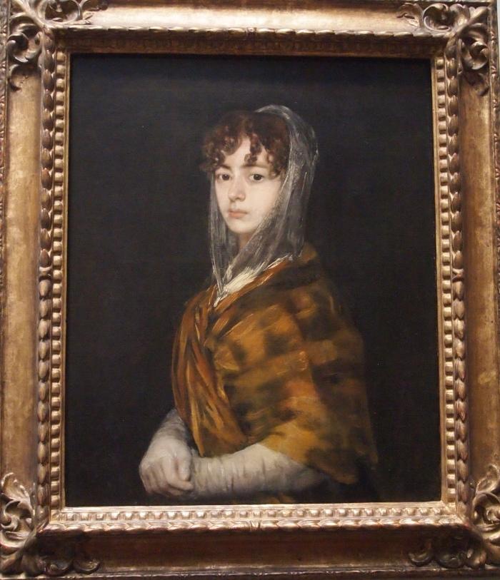 Senora Sabasa Garcia (c. 1806/1811) - Francisco de Goya