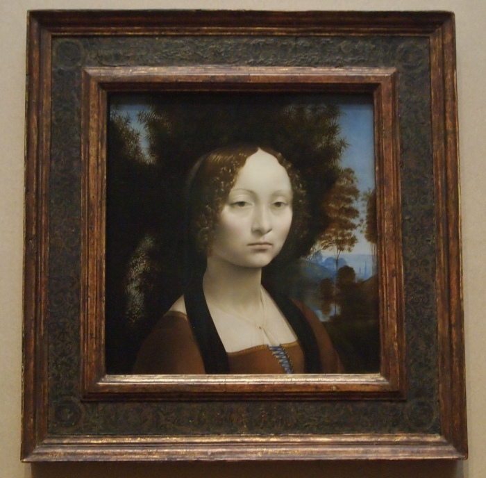 Ginerva de' Benci (c. 1474/1478) - Leonardo da Vinci