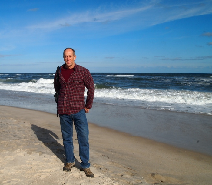 Mike at Assateague Beach