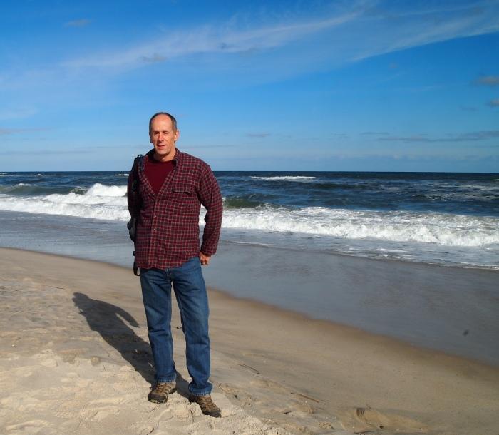 Mike at Assateague Beach