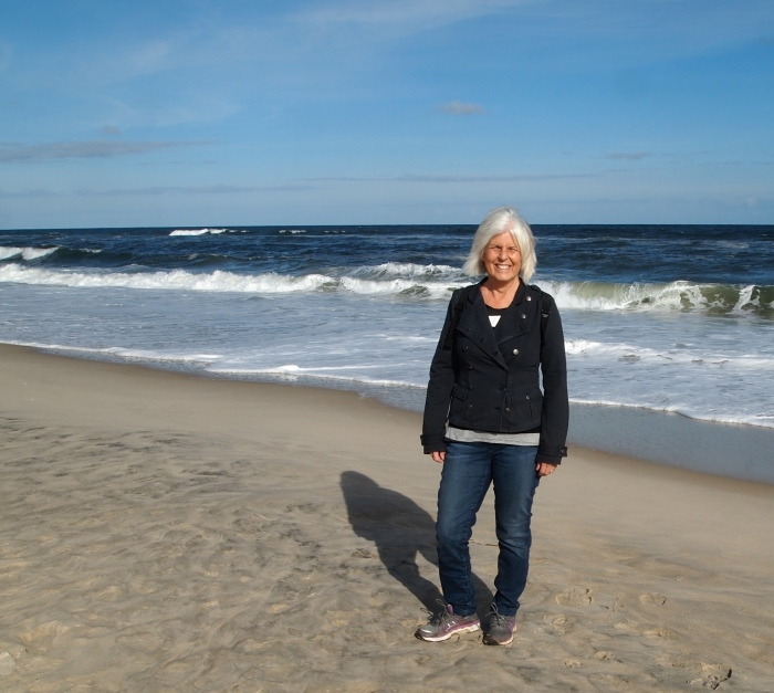 me at Assateague Beach