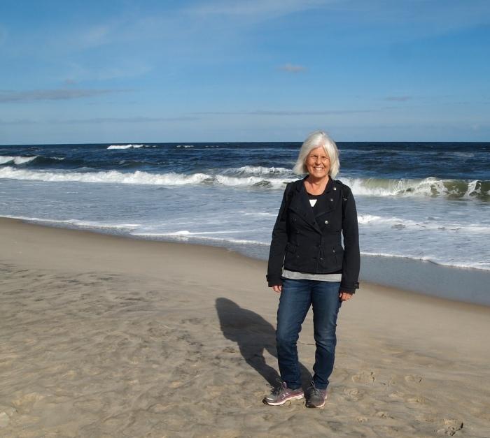 me at Assateague Beach