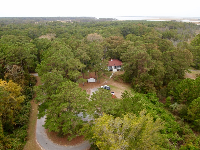 View of the assistant keeper's house from Assateague Lighthouse