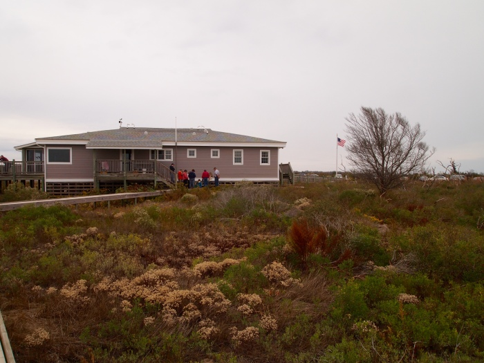 the Visitor's Center at Little Tom's Cove