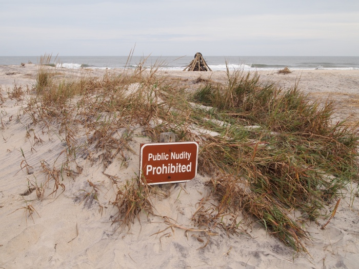 Public Nudity Prohibited