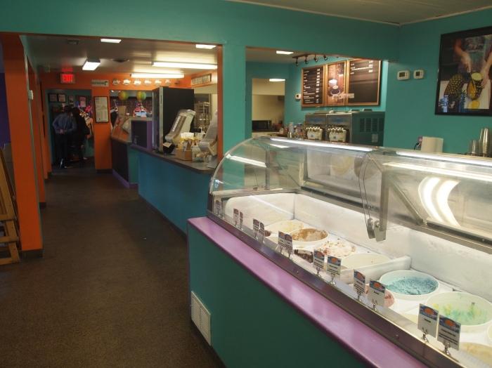 inside The Island Creamery