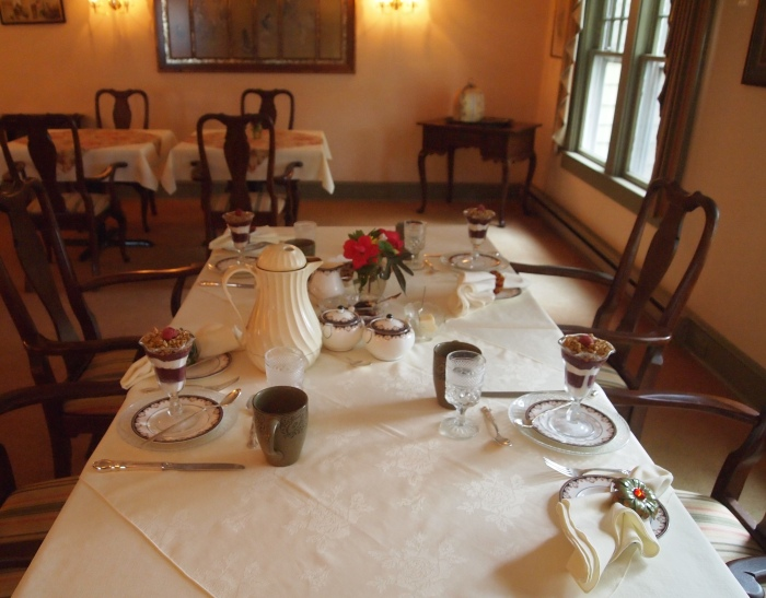 the Dining Room at the Channel Bass Inn