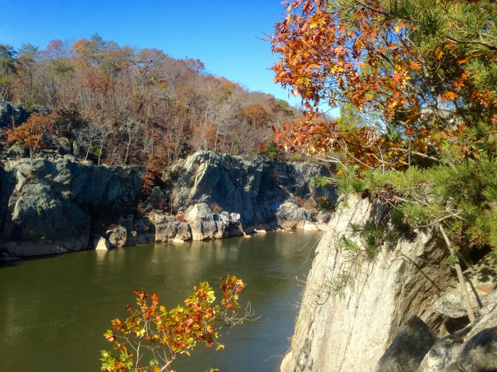 Mather Gorge along the Potomac