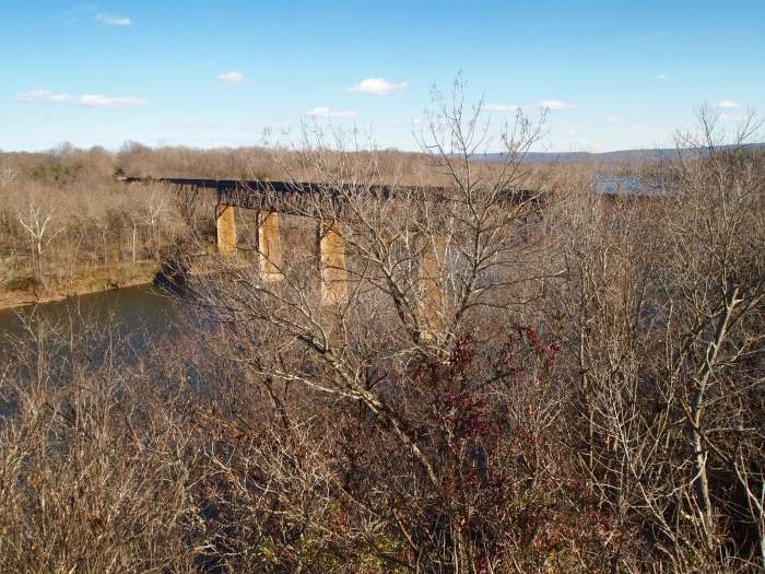 railroad over the Potomac River
