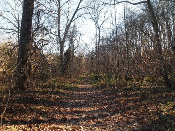 the Snavely Ford Trail