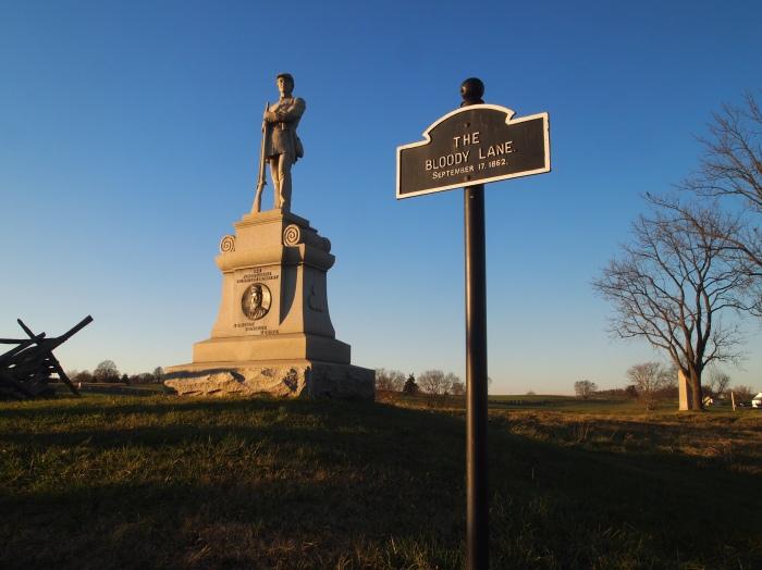 Monument at Bloody Lane