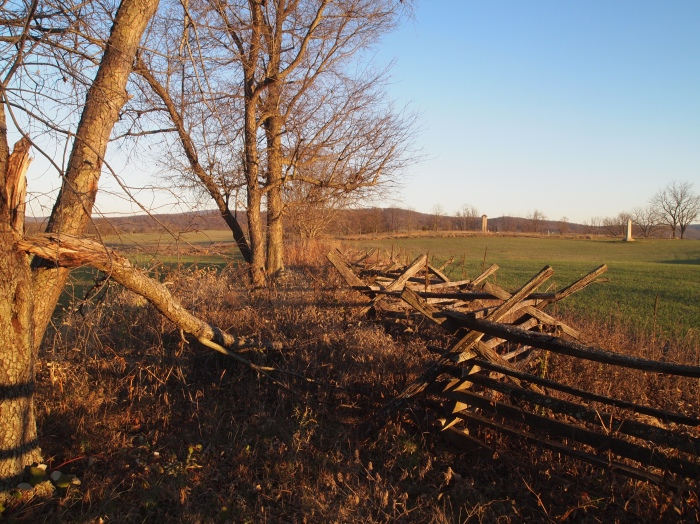 fences in Antietam